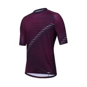Santini Roccia - Maillot manches courtes Homme - violet